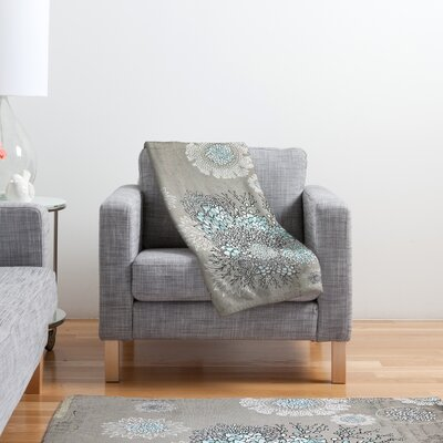DENY Designs Iveta Abolina French Blue Polyester Fleece Throw Blanket
