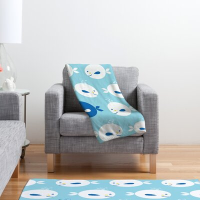 DENY Designs Khristian A Howell Baby Beach Bum 2 Polyester Fleece Throw Blanket