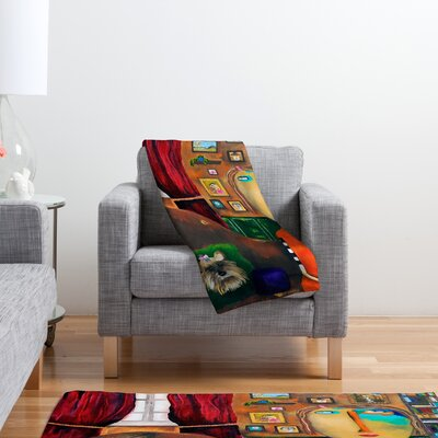 DENY Designs Robin Faye Gates with Bebe Polyester Fleece Throw Blanket