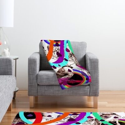 DENY Designs Randi Antonsen Luns Box 7 Polyester Fleece Throw Blanket