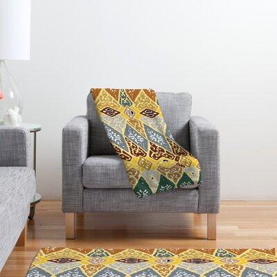 DENY Designs Romi Vega Diamond Tile Polyester Fleece Throw Blanket