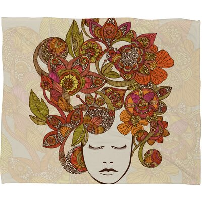 DENY Designs Valentina Ramos Its All in Your Head Polyester Fleece Throw Blanket