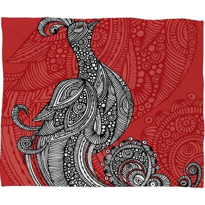 DENY Designs Valentina Ramos The Bird Polyester Fleece Throw Blanket
