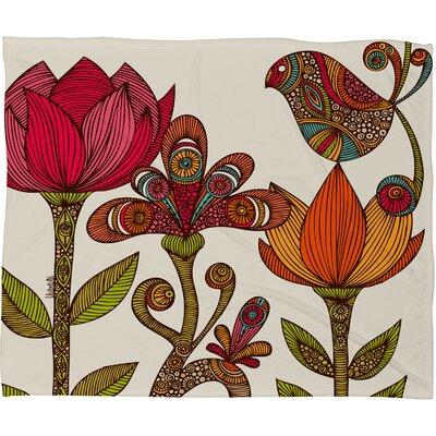 DENY Designs Valentina Ramos in The Garden Polyester Fleece Throw Blanket