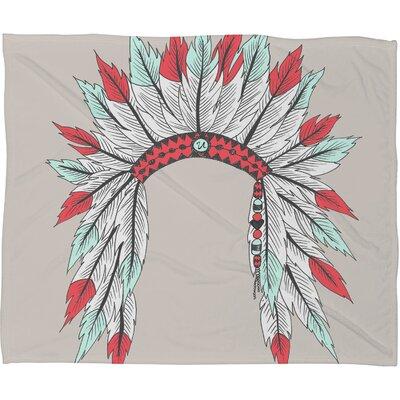 DENY Designs Wesley Bird Dressy Polyester Fleece Throw Blanket