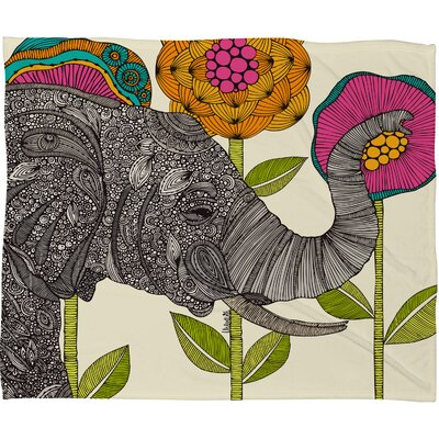 DENY Designs Valentina Ramos Aaron Polyester Fleece Throw Blanket
