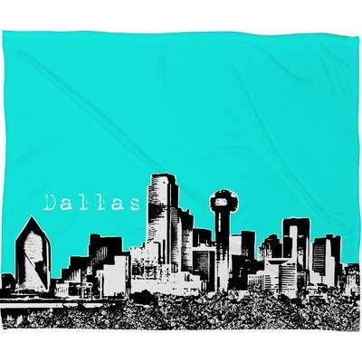DENY Designs Bird Ave Dallas Polyester Fleece Throw Blanket