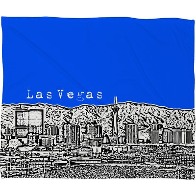 DENY Designs Bird Ave Las Vegas Polyester Fleece Throw Blanket