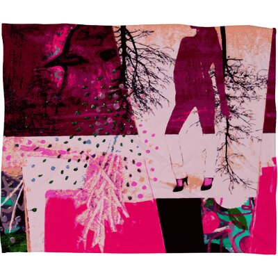 DENY Designs Randi Antonsen City 3 Polyester Fleece Throw Blanket