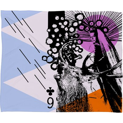 DENY Designs Randi Antonsen Poster Hero 3 Polyester Fleece Throw Blanket