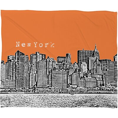 DENY Designs Bird Ave New York Polyester Fleece Throw Blanket