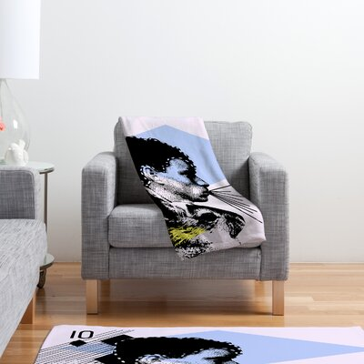 DENY Designs Randi Antonsen Poster Hero 1 Polyester Fleece Throw Blanket