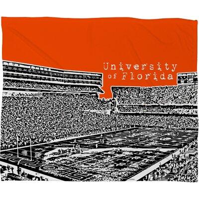 DENY Designs Bird Ave University Polyester Fleece Throw Blanket