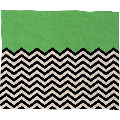DENY Designs Bianca Green Polyester Fleece Throw Blanket
