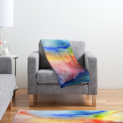 DENY Designs Jacqueline Maldonado Torrent 1 Polyester Fleece Throw Blanket