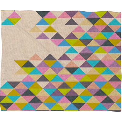 DENY Designs Bianca Green Completely Polyester FleeceThrow Blanket