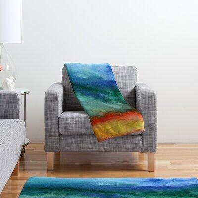 DENY Designs Jacqueline Maldonado Leaving California Polyester Fleece Throw Blanket