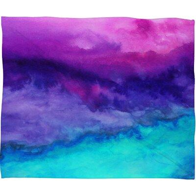 DENY Designs Jacqueline Maldonado The Sound Polyester Fleece Throw Blanket