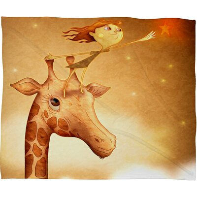 DENY Designs Jose Luis Guerrero Polyester Fleece Throw Blanket