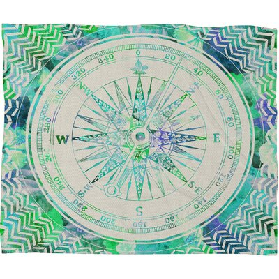 DENY Designs Bianca Polyester Fleece Throw Blanket