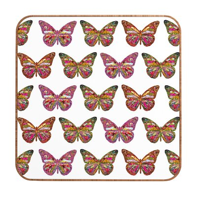 DENY Designs Bianca Green Butterflies Fly Wall Art