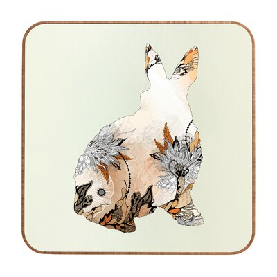 DENY Designs Iveta Abolina Little Rabbit Wall Art