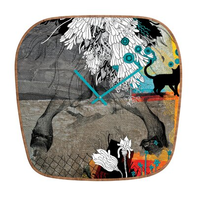 DENY Designs Iveta Abolina Stay Awhile Wall Clock