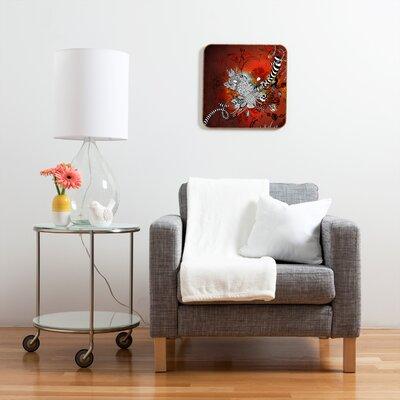 DENY Designs Wild Lilly by Iveta Abolina Framed Graphic Art Plaque