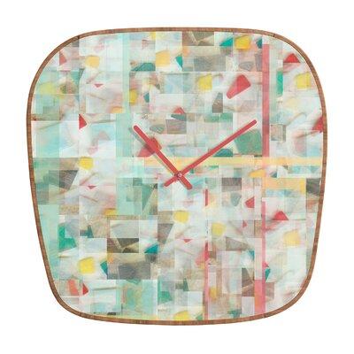 DENY Designs Jacqueline Maldonado Mosaic Wall Clock