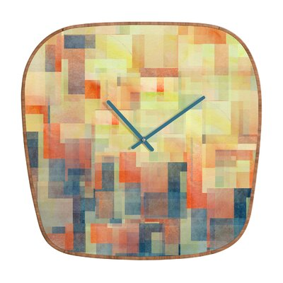 DENY Designs Jacqueline Maldonado Cubism Dream Clock
