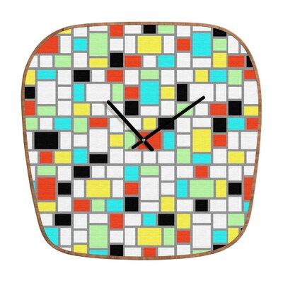 DENY Designs Jacqueline Maldonado Geo Wall Clock
