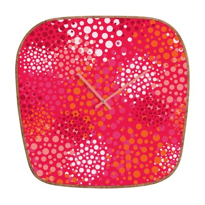 DENY Designs Khristian A Howell Brady Dots Wall Clock