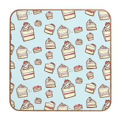 DENY Designs Cake Slices by Jennifer Denty Framed Graphic Art Plaque