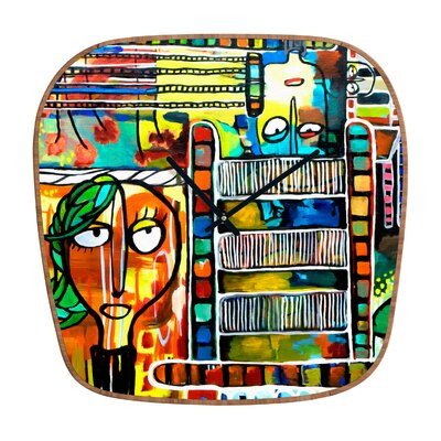 DENY Designs Robin Faye Gates Musical Chairs Clock