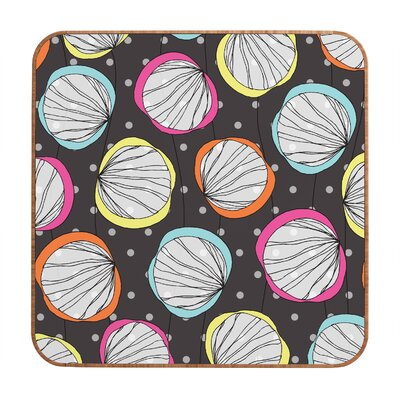 DENY Designs Scribble Shells by Rachael Taylor Framed Graphic Art Plaque