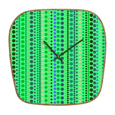 DENY Designs Romi Vega Retro Wall Clock