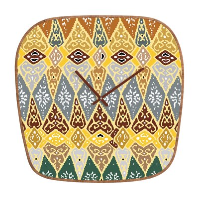 DENY Designs Romi Vega Diamond Tile Wall Clock