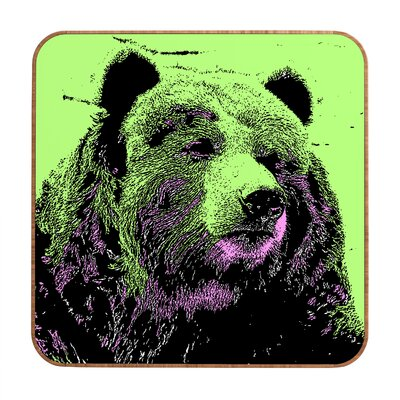 DENY Designs Romi Vega Bear Wall Art