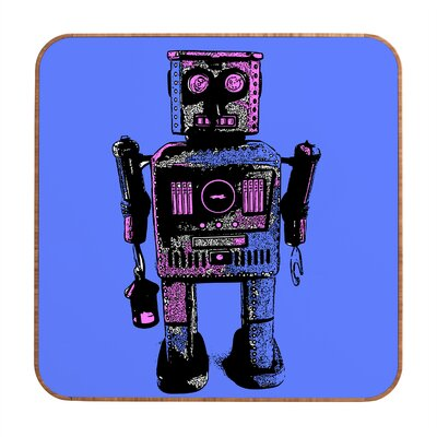 DENY Designs Lantern Robot by Romi Vega Framed Graphic Art Plaque