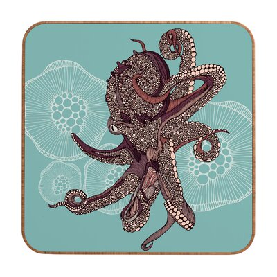 DENY Designs Octopus Bloom by Valentina Ramos Framed Graphic Art Plaque