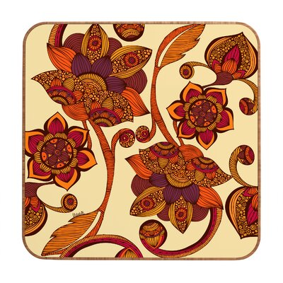 DENY Designs Valentina Ramos Boho Flowers Wall Art
