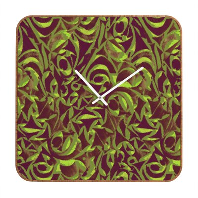 DENY Designs Wagner Campelo Abstract Garden Wall Clock