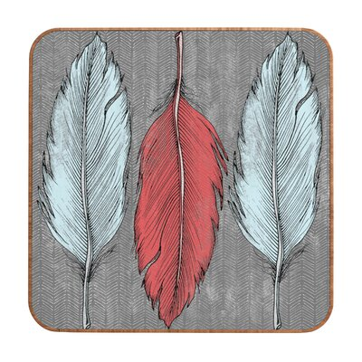 DENY Designs Feathered by Wesley Bird Framed Graphic Art Plaque