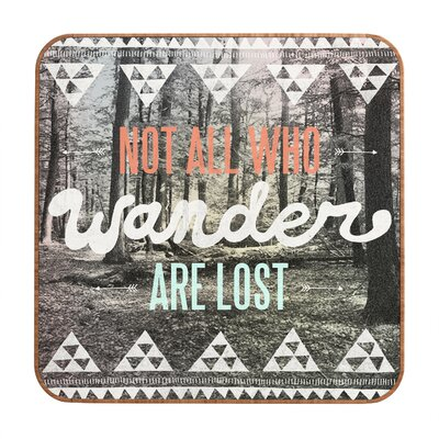 DENY Designs Wander by Wesley Bird Framed Textual Art Plaque