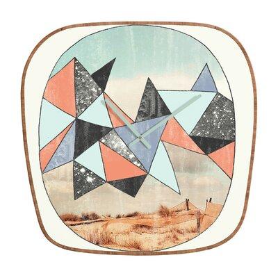 DENY Designs Wesley Bird Dry Spell Wall Clock