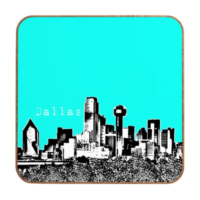DENY Designs Dallas by Bird Ave. Framed Graphic Art Plaque