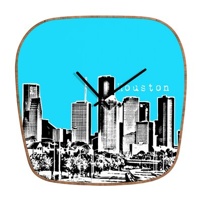DENY Designs Bird Ave Houston Wall Clock