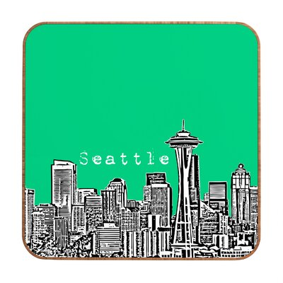 DENY Designs Seattle by Bird Ave. Framed Graphic Art Plaque