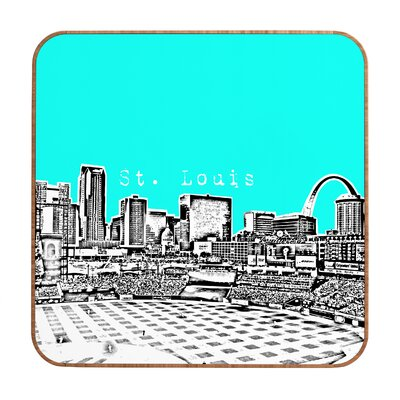 DENY Designs St Louis by Bird Ave. Framed Graphic Art Plaque