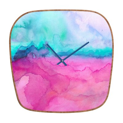 DENY Designs Jacqueline Maldonado Tidal Color Clock